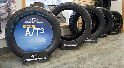 Cooper A/T3 Tires at Nu Line Auto - Meadow Lake, SK.
